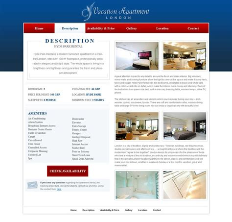 free home website template 14 web templates