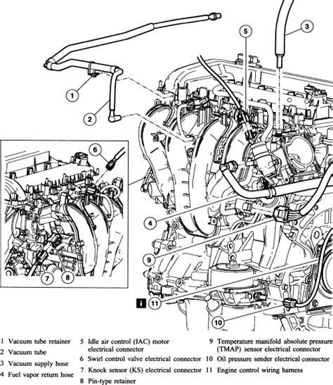 2003 Mazda Tribute Engine Diagram