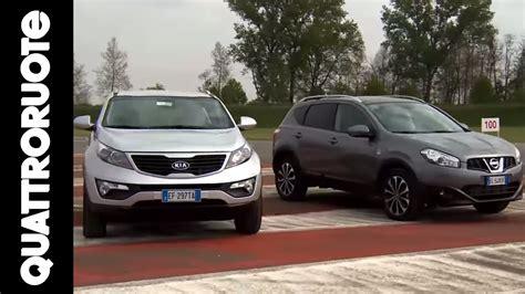 Kia Vs Nissan by Nissan Qashqai Vs Kia Sportage