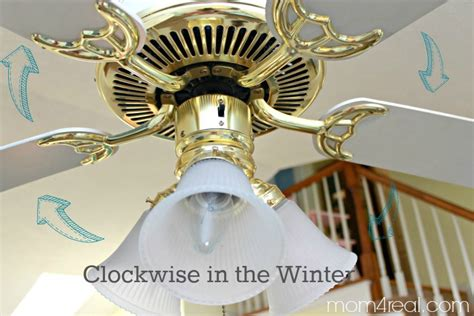which way ceiling fan winter change ceiling fan direction in winter summer and save