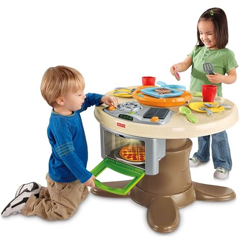 fisher price servin surprises kitchen table gift