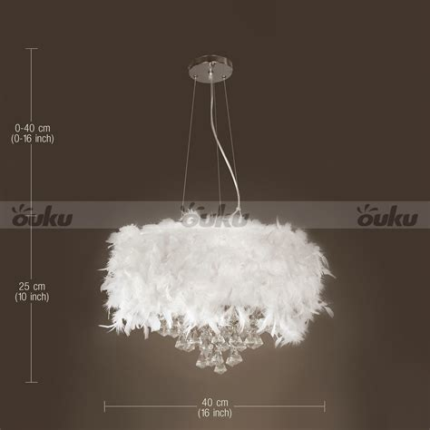 white chandelier ebay white feather chandelier with 3 lights drop