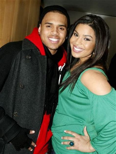 Jordin Sparks And Chris Brown On The Set Of No Air by Jordin Sparks And Hsm Set For Nba All Weekend