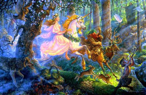 Wizard Of Oz Wall Mural princess with unicorn horse fairy tale story images for