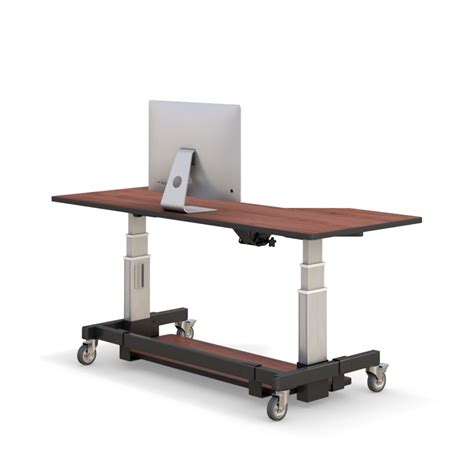 Height Adjustable Standing Desk Afcindustries Com Desk Height Adjusters