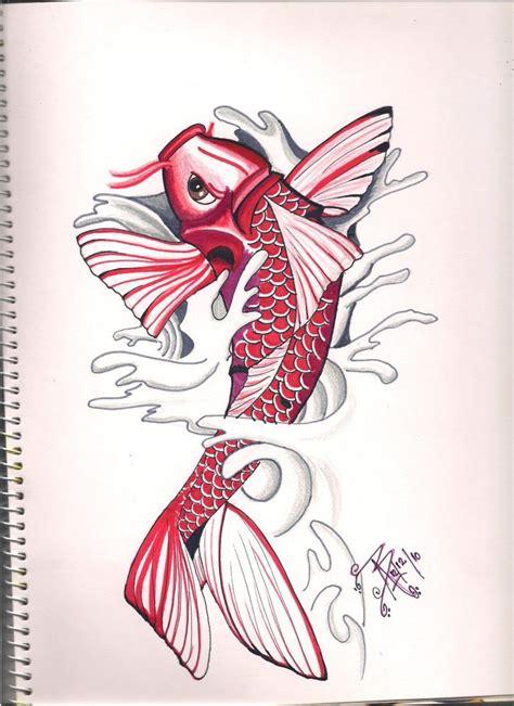 tattoo pez koi 30 best koi tattoo no lines images on pinterest koi