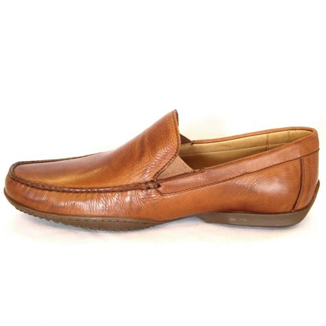 casual leather loafers anatomic mens casual leather slip on loafers the tavares