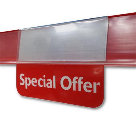 Point Of Sale Shelf Talkers by 10x Special Offer Pvc Shelf Talker Epos Ticket Point