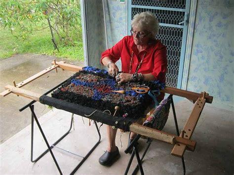 make rug hooking frame proddy frame diy rugcrafting australia