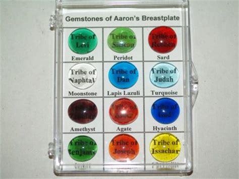 12 stones in the bible gemstones of aaron s breastplate