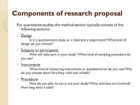 proposal sections drafting research proposal ppt video online download