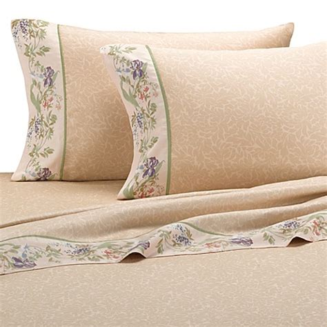 bed bath and beyond sheet sets croscill 174 sheet set in iris bed bath beyond
