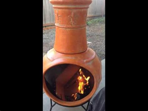 How To Stop A Chiminea chiminea or kiva my one in the new clay chimney outdoor fireplace