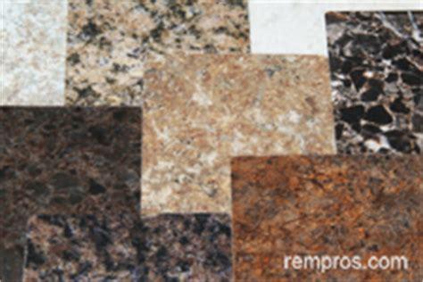 Laminate Vs Granite Countertops by Granite Vs Laminate Kitchen Countertop Comparison Chart