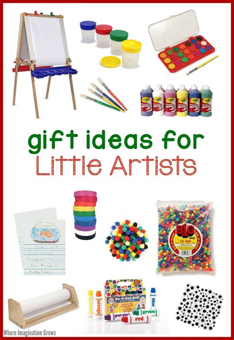art supplies for kids gift ideas for little artists
