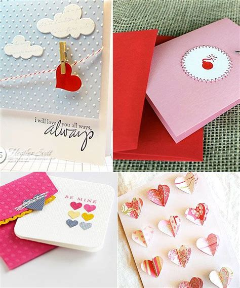 cute homemade valentine ideas cute valentine s day diy card ideas creations