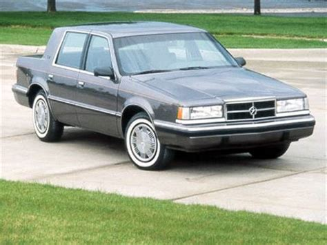 kelley blue book classic cars 1992 plymouth sundance seat position control 1992 dodge dynasty pricing ratings reviews kelley blue book