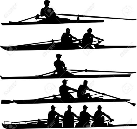 crew boat clipart team rowing boat clipart