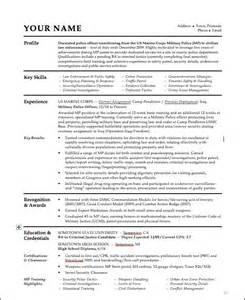 sle resume for officer best resume exle