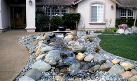 cream house music front yard landscape ideas with rocks small landscaping neutral cream house rock garden design