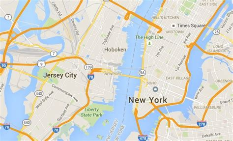 printable street map of hoboken nj as jersey city and hoboken fight over bike share everyone