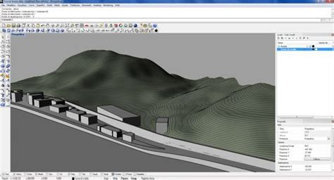 tutorial revit terreno tutorial rhino 3d terreno 3d curve di livello e punti