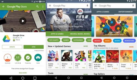 Play Store Like Ui Is Seemingly Testing Some Big Changes To The Play