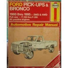 service manual owners manual 1993 ford bronco ford bronco kamisco ford ranger and bronco ii 1000 images about ford bronco manuals on repair shop broncos and ford trucks