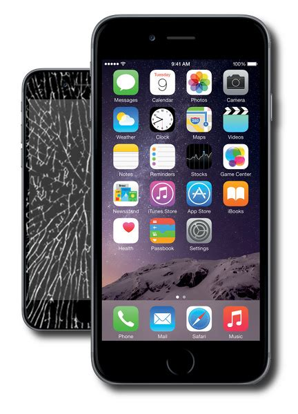 apple iphone 6 glass repair