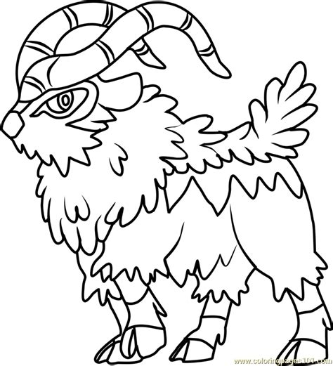 pokemon coloring pages helioptile gogoat pokemon coloring pages images pokemon images