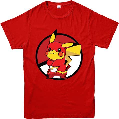 design a pokemon shirt pokemon go t shirt pikachu flash spoof t shirt inspired