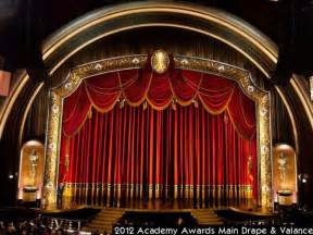 Movie Theater Drapes The Construction Of The 2012 Academy Award Main Stage Drapery