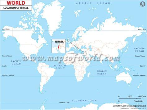 world map image israel israel pop quiz quiz geography