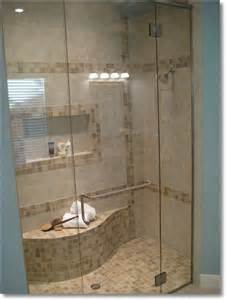 custom shower stalls with seat these are the of