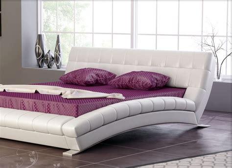 camere da letto in pelle letto matrimoniale pelle da letto elegante e