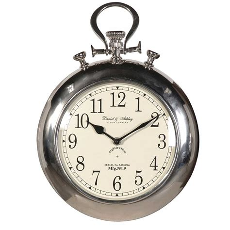 pocket watch wall clock handmade kitchens in norwich
