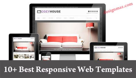 best responsive templates 10 best responsive website templates for 2014 designmaz