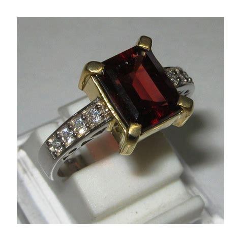 Batu Garnet Memo cincin silver batu permata garnet merah 2 89 carat memo