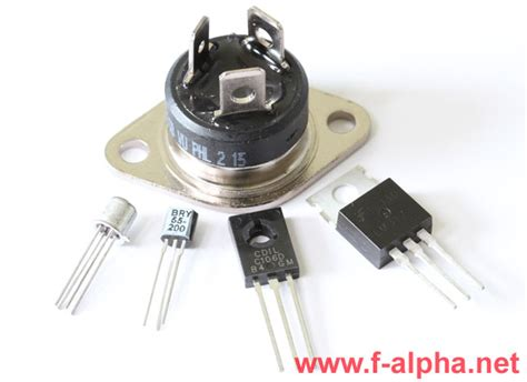 scr diode f alpha net the thyristor