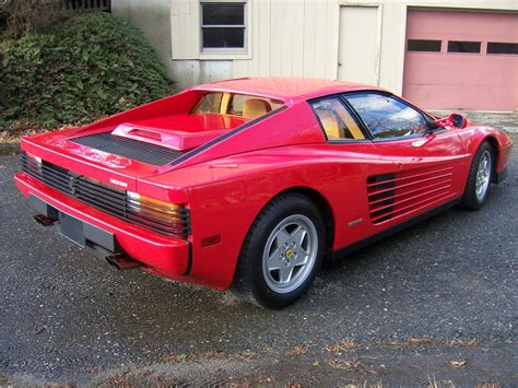 ferrari coupe rear 1989 ferrari testarossa coupe 81551