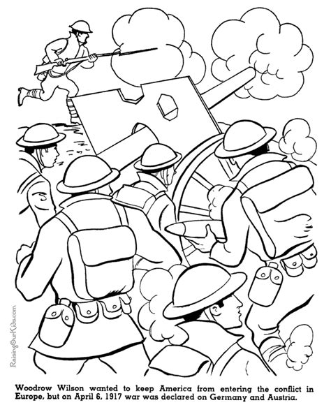 coloring pages for us history us enters war american history coloring page for kid 086