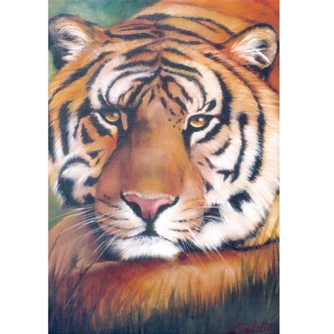 bob ross paintings of animals book wildlife painting project pack tiger bob ross