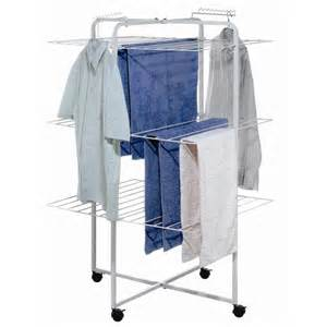 Clothes Dryer Airer Ltw White 3 Tier 42 Rail 3 Tier Clothes Airer With Castors