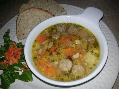 bratwurst soup bratwurst soup brat chunks carrots potatoes