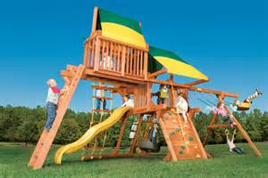 Swing Sets Backyard by Outdoor Playsets Steepleton