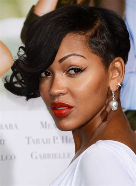 pictures of meagan good hair 2014 meagan good short hairstyles pinterest