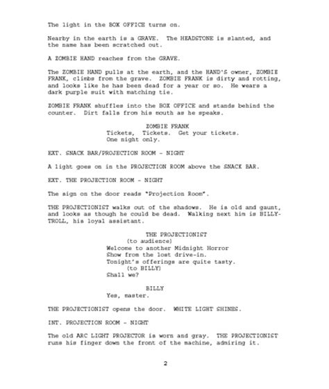 how to write a movie script www pixshark com images