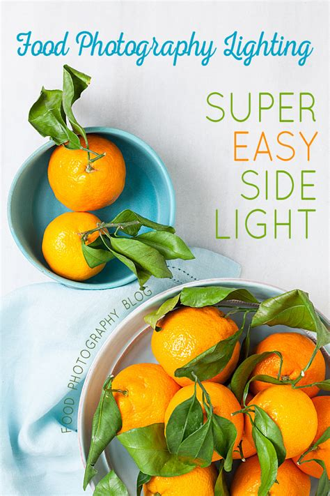 best lighting for food photography food photography lighting easy artificial side lighting