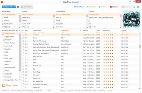 lade per pc musik vom pc auf iphone ipod und laden