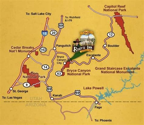 bryce national park map bryce maps maps of bryce